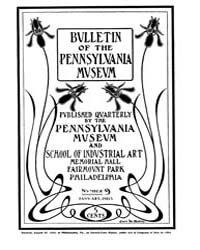 Bulletin of the Pennsylvania Museum : 19... Volume Vol. 3 by