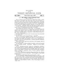 Bulletin of the Torrey Botanical Club : ... Volume Vol. 8 by