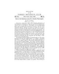 Bulletin of the Torrey Botanical Club : ... Volume Vol. 10 by