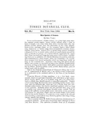 Bulletin of the Torrey Botanical Club : ... Volume Vol. 11 by