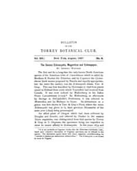 Bulletin of the Torrey Botanical Club : ... Volume Vol. 14 by