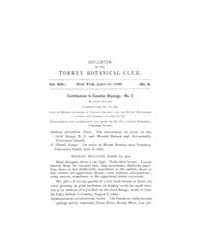 Bulletin of the Torrey Botanical Club : ... Volume Vol. 17 by