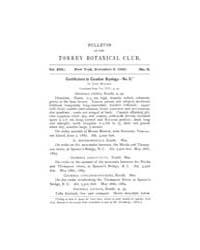 Bulletin of the Torrey Botanical Club : ... Volume Vol. 17 by