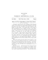 Bulletin of the Torrey Botanical Club : ... Volume Vol. 18 by