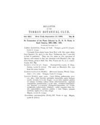 Bulletin of the Torrey Botanical Club : ... Volume Vol. 19 by