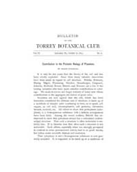 Bulletin of the Torrey Botanical Club : ... Volume Vol. 20 by