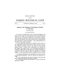 Bulletin of the Torrey Botanical Club : ... Volume Vol. 21 by