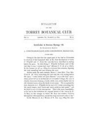 Bulletin of the Torrey Botanical Club : ... Volume Vol. 22 by