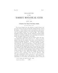 Bulletin of the Torrey Botanical Club : ... Volume Vol. 25 by