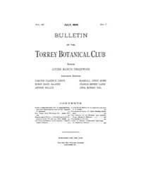 Bulletin of the Torrey Botanical Club : ... Volume Vol. 26 by
