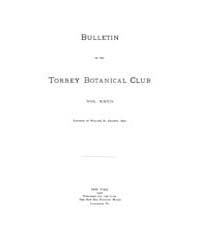 Bulletin of the Torrey Botanical Club : ... Volume Vol. 27 by
