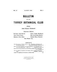 Bulletin of the Torrey Botanical Club : ... Volume Vol. 31 by