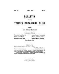 Bulletin of the Torrey Botanical Club : ... Volume Vol. 32 by