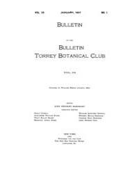 Bulletin of the Torrey Botanical Club : ... Volume Vol. 34 by