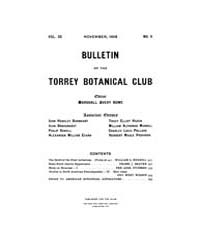 Bulletin of the Torrey Botanical Club : ... Volume Vol. 35 by
