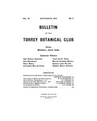 Bulletin of the Torrey Botanical Club : ... Volume Vol. 36 by