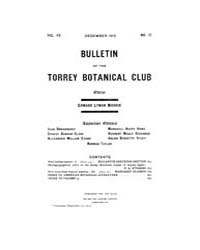 Bulletin of the Torrey Botanical Club : ... Volume Vol. 40 by