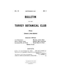 Bulletin of the Torrey Botanical Club : ... Volume Vol. 40 by