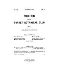 Bulletin of the Torrey Botanical Club : ... Volume Vol. 44 by