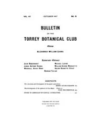 Bulletin of the Torrey Botanical Club : ... Volume Vol. 44 by
