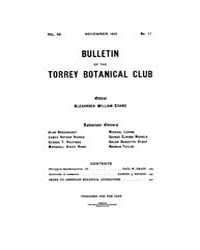 Bulletin of the Torrey Botanical Club : ... Volume Vol. 48 by
