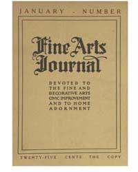 Fine Arts Journal : 1919 Jan No. 1, Vol.... Volume Vol.37 by Stuart,evelyn,m.