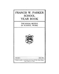 Francis W. Parker School Year Book : 191... Volume Vol.1 by Kaplan,andy