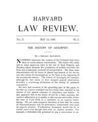 Harvard Law Review : 1888 May 15 No. 2, ... Volume Vol.2 by