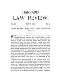 Harvard Law Review : 1889 May 15 No. 2, ... Volume Vol.3 by
