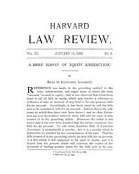 Harvard Law Review : 1890 Jan 15 No. 6, ... Volume Vol.3 by
