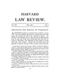 Harvard Law Review : 1903 May No. 7, Vol... Volume Vol.28 by