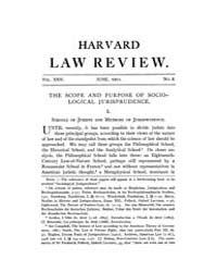 Harvard Law Review : 1911 Jun No. 8, Vol... Volume Vol.11 by