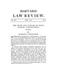 Harvard Law Review : 1912 Apr No. 6, Vol... Volume Vol.15 by
