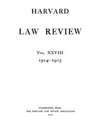 Harvard Law Review : 1914 Nov No. 1, Vol... Volume Vol.17 by