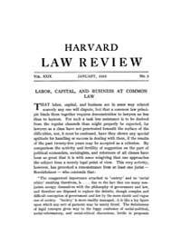 Harvard Law Review : 1916 Jan No. 3, Vol... Volume Vol.19 by