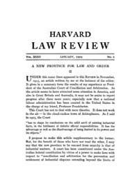 Harvard Law Review : 1919 Jan No. 3, Vol... Volume Vol.22 by