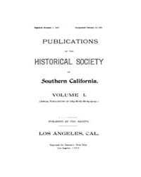 Historical Society of Southern Californi... Volume Vol.1 by Ovnick,merry