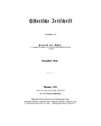 Historische Zeitschrift : 1868 Bd 19 H 1 by