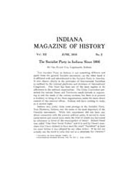 Indiana Magazine of History : 1916 June ... Volume Vol.12 by