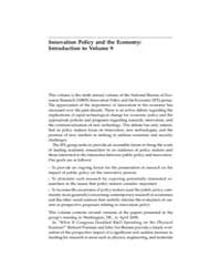 Innovation Policy and the Economy : 2009... Volume Vol.9 by Clarkeson,john,s.