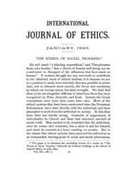 International Journal of Ethics : 1893 J... Volume Vol.3 by Richardson,henry,s.