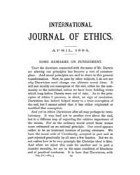 International Journal of Ethics : 1894 A... Volume Vol.4 by Richardson,henry,s.