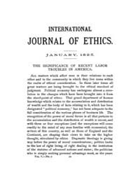 International Journal of Ethics : 1895 J... Volume Vol.5 by Richardson,henry,s.