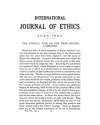 International Journal of Ethics : 1897 J... Volume Vol.7 by Richardson,henry,s.