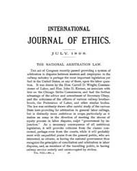 International Journal of Ethics : 1898 J... Volume Vol.8 by Richardson,henry,s.
