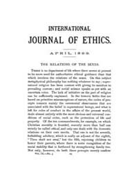 International Journal of Ethics : 1899 A... Volume Vol.9 by Richardson,henry,s.