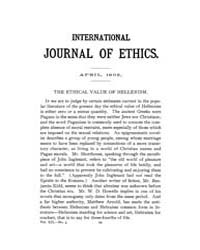 International Journal of Ethics : 1902 A... Volume Vol.12 by Richardson,henry,s.