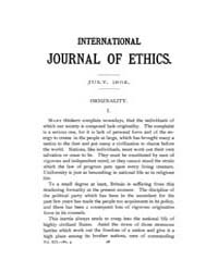 International Journal of Ethics : 1902 J... Volume Vol.12 by Richardson,henry,s.