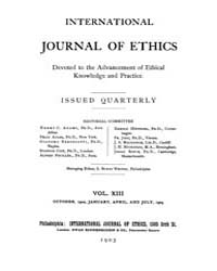 International Journal of Ethics : 1902 O... Volume Vol.13 by Richardson,henry,s.