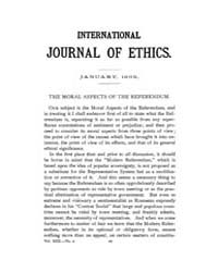 International Journal of Ethics : 1903 J... Volume Vol.13 by Richardson,henry,s.